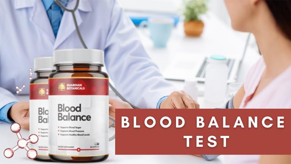 BLOOD BALANCE TEST