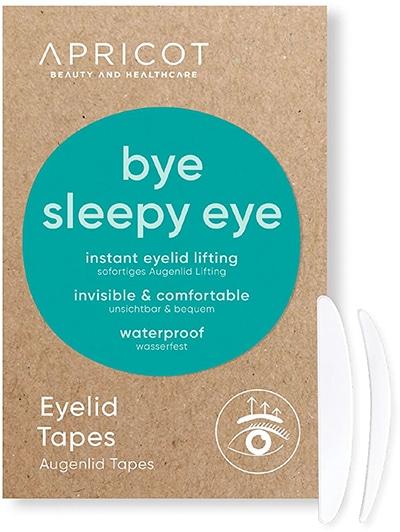 Apricot-beauty Bye Sleepy Eye Schlupflider Tapes