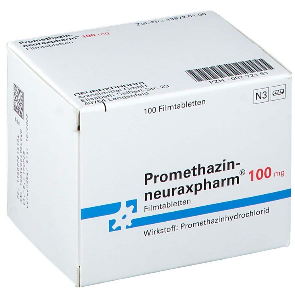 promethazin neuraxpharm